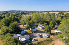 Camping de Saulieu - Mobil-home Super Mercure Regular Accès Internet - Jeux jardin . . . Bourgogne, Saulieu (21210)