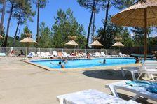 Camping Bois Simonet - Chalet GARRIGUE - 2 chambres Piscine collective - Club enfants - Jeux jardin . . . Rhône-Alpes, Joyeuse (07260)