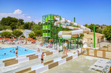 Camping Falaise Narbonne Plage 2* - Mh 2 ch 5 pers - Terrasse Haute Semi Couverte Piscine collective - Plage < 500 m - Terrasse Languedoc-Roussillon, Narbonne Plage (11100)