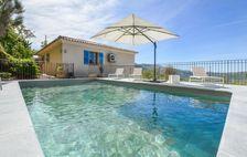 Location avec piscine privée Piscine privée - Télévision - Terrasse - Vue mer - place de parking en extérieur . . . Corse, Nessa (20225)