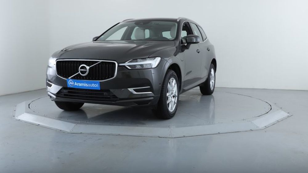XC60 T8 Twin Engine 303 ch + 87 ch Geartronic 8 Momentum +Cuir Su occasion 72100 Le Mans