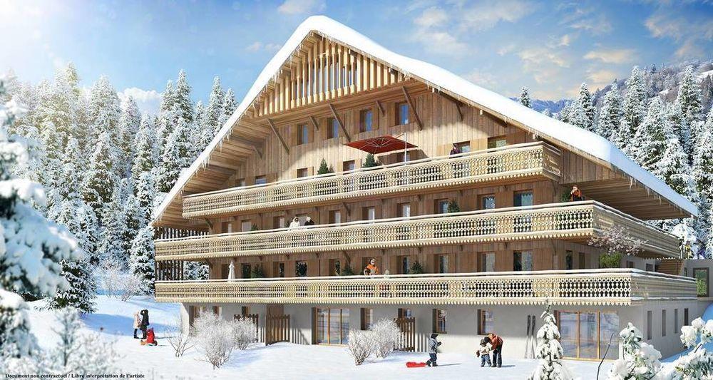 Vente Appartement Résidence haut de gamme sur Châtel, T1 de 47,40m²  à Châtel