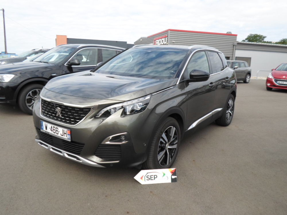 3008 GT LINE TP KEYLESS CAMERA 360 HAYON ELECT 2019 occasion 81380 Lescure-d'Albigeois