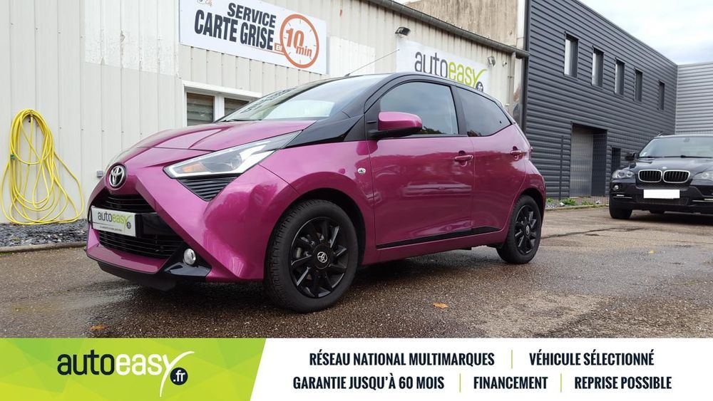 Aygo 1.0 VVT-i 72 ch x-cite 5p 6040 km 2018 occasion 57100 Thionville