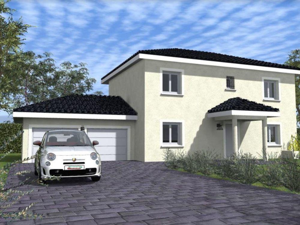 Vente Maison Constructeur Des Alpes votre villa 96m² Excenevex Excenevex