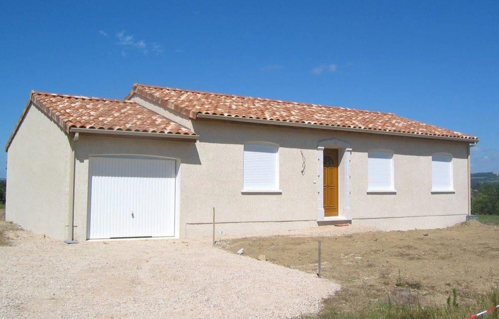 Vente Maison Maison 90m2 avec Garage sur terrain viabilisé de 800m2 à Larra  à Larra