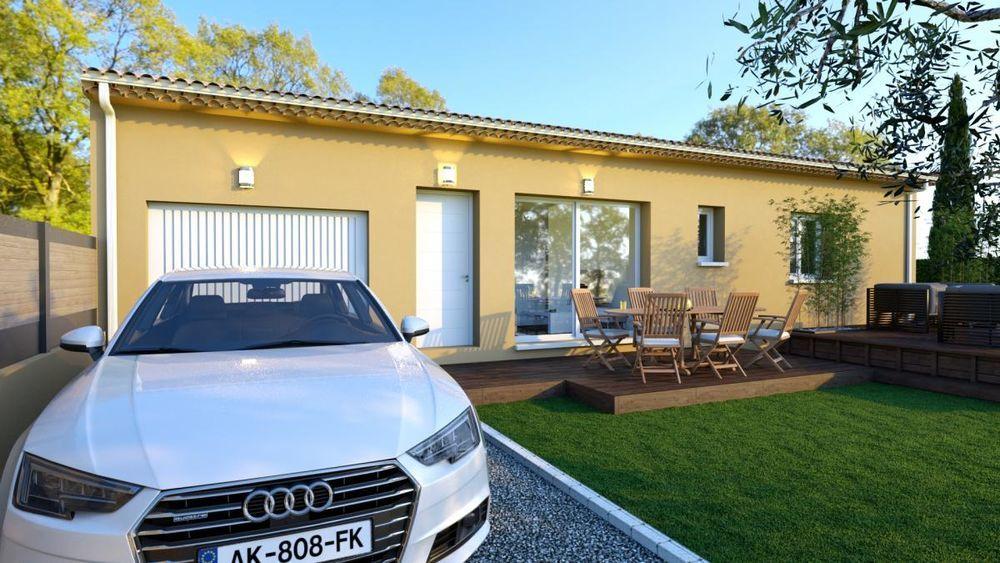 Vente Maison projet maison 85 m²  à La coucourde