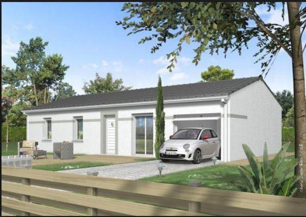 Vente Maison projet maison 89 m²  à St marcel les sauzet