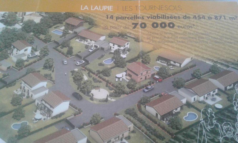 Vente Terrain Parcelle sur la commune de La Laupie  à La laupie