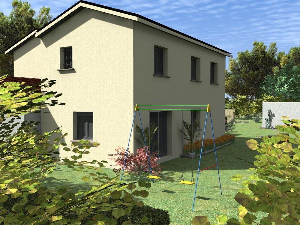 Vente Maison a 5 min de l'accès autoroute de BOURGOIN JALLIEU  à Cessieu