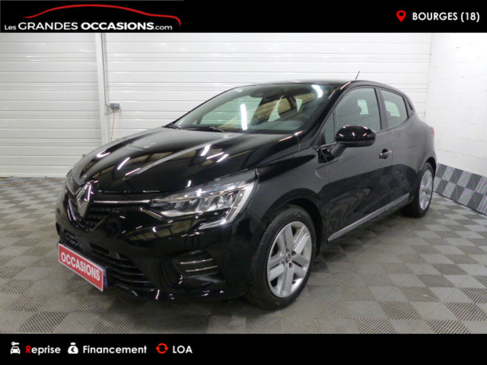 Clio V Zen TCe 100 2019 occasion 18000 Bourges