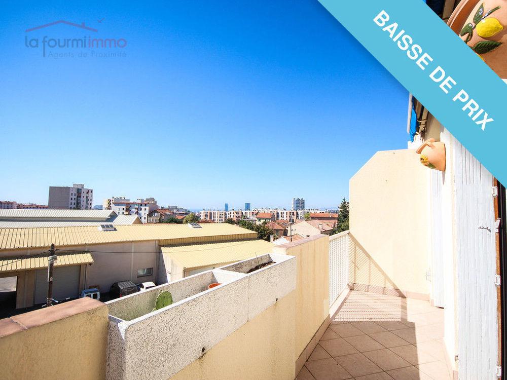 Vente Appartement Beau 3 Pièces Excellent Etat petite terrasse plein sud. Marseille 13