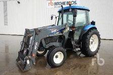 Agriculture Tractors NEW HOLLAND TD75D 2003 (enchère : 11/12/2018) 1 27600 Saint-Aubin-sur-Gaillon