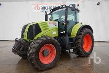 Agriculture Tractors CLAAS AXION 810 CIS 2008 (enchère : 11/12/2018) 1 27600 Saint-Aubin-sur-Gaillon