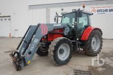Agriculture Tractors MASSEY FERGUSON 6455 2012 (enchère : 11/12/2018) 1 27600 Saint-Aubin-sur-Gaillon