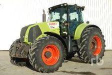 Agriculture Tractors CLAAS AXION 850 CEBIS 2015 (enchère : 11/12/2018) 1 27600 Saint-Aubin-sur-Gaillon