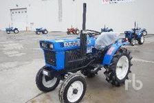 Agriculture Tractors ISEKI TX1510F  (enchère : 13/03/2018) 1 27600 Saint-Aubin-sur-Gaillon