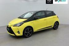 Toyota Yaris Hybride 100h collection jaune 2018 occasion Wattrelos 59150