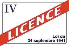 LICENCE IV à CEDER 11000