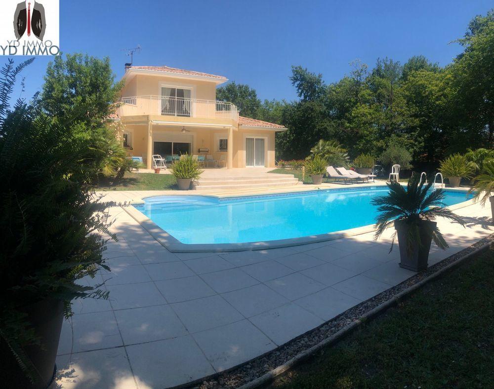 Vente Maison À Portets, immobilier de luxe : villa terrasse en vente  à Castres gironde