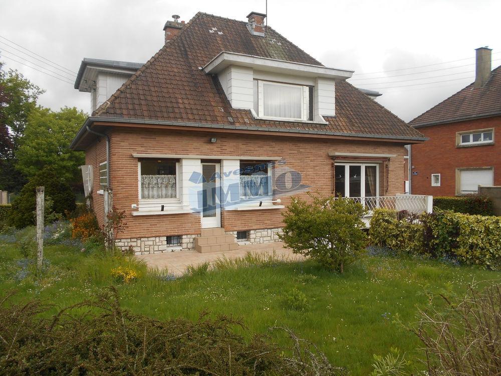 Vente Maison Maison de ville avec sous-sol complet Secteur Frévent  à Frevent