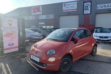 Fiat 500  1.2 8v 69ch Eco Pack Lounge 8490 95220 Herblay