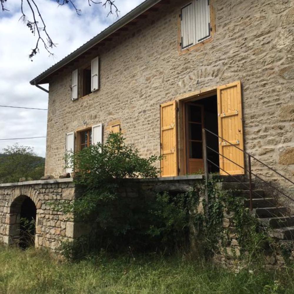 Vente Ferme Ancienne corps de ferme sur les hauteurs de Vaugneray  à Vaugneray