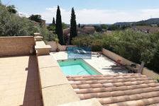 Vue dégagée pour cette maison avec 4 chambres , piscine et jaccuzzi 374000 Bagnols-sur-Cèze (30200)