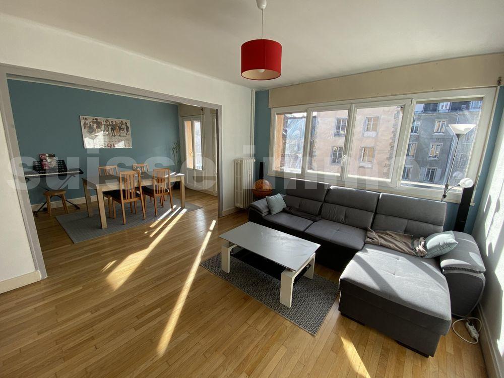Vente Appartement Besancon Quartier Helvétie/Mouillère bel appartement T4 avec garage. Besancon