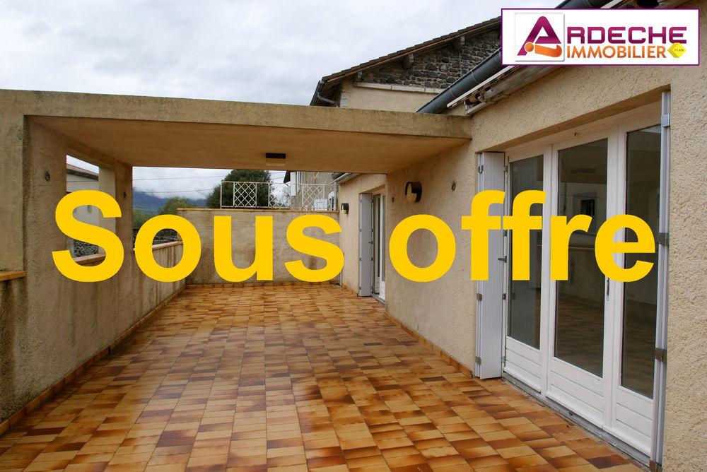 Vente Appartement Rare sur CHOMERAC ! appartement T5 avec terrasse de 45 m2 env.  à Chomerac