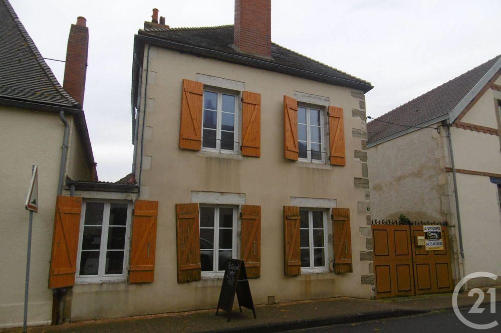 vente Maison - 7 pièce(s) - 228 m² Chantelle (03140)