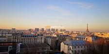 Studio meublé Saint-Lambert/Porte de Versailles. Prestations haut de gamme, vue panoramique à 360o. 1280 Paris 15