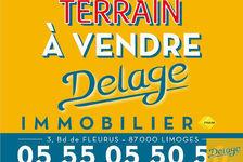 Vente Terrain Veyrac (87520)