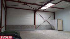 Entrepôts - A LOUER - 97 m² non divisibles 670 33370 Yvrac