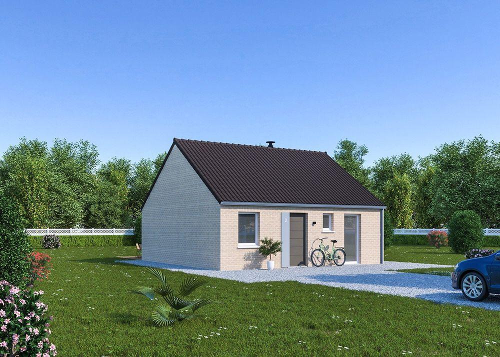 vente Maison - 3 pièce(s) - 65 m² Mons-en-Pévèle (59246)