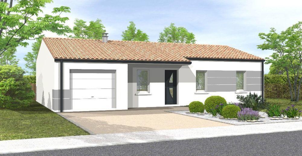 vente Maison - 4 pièce(s) - 81 m² Saint-Urbain (85230)