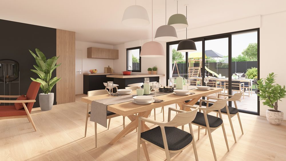 vente Maison - 5 pièce(s) - 96 m² Ochtezeele (59670)
