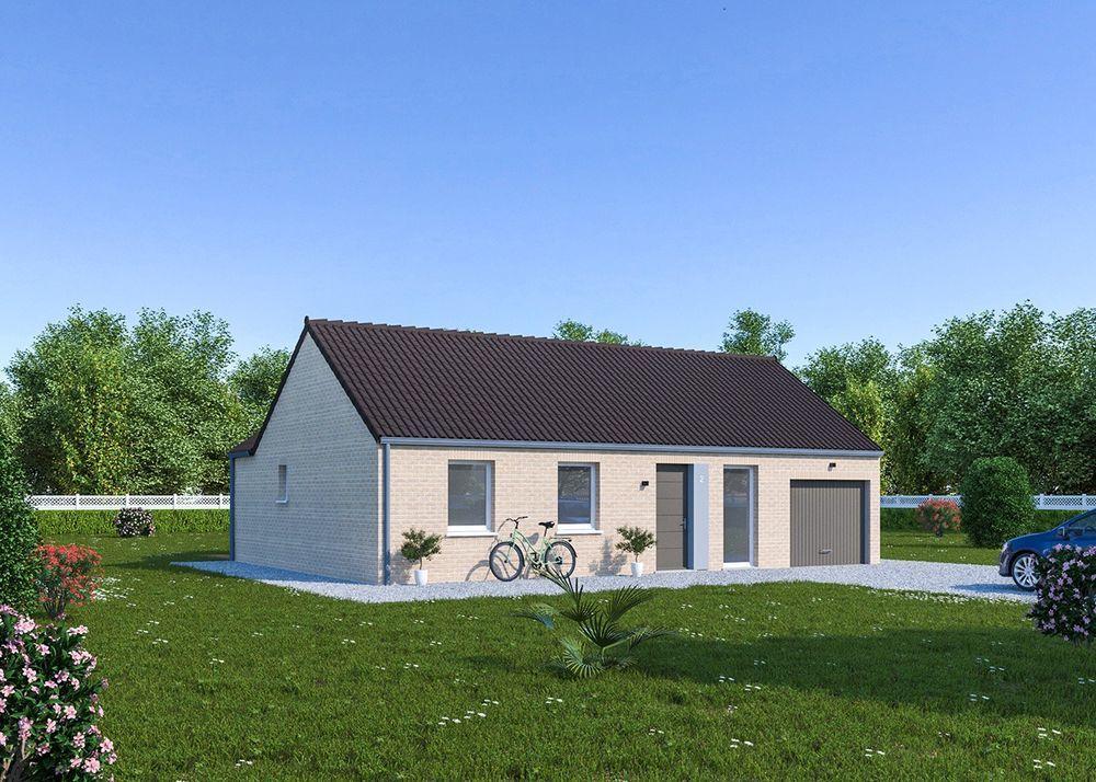 vente Maison - 4 pièce(s) - 81 m² Mons-en-Pévèle (59246)
