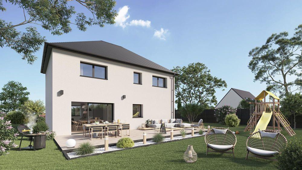 vente Maison - 6 pièce(s) - 116 m² Mons-en-Pévèle (59246)