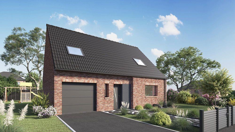vente Maison - 6 pièce(s) - 114 m² Mons-en-Pévèle (59246)