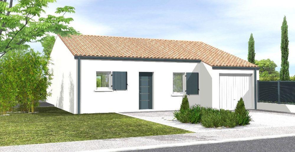 vente Maison - 4 pièce(s) - 77 m² Saint-Urbain (85230)