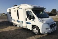 CAMPING CAR OCCASION - MC LOUIS TANDY 672 - ANNEE 2008 34900 40600 Biscarrosse