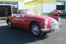 MG A 1.5 L 1957 ROUGE CABRIOLET 27000 33210 Langon