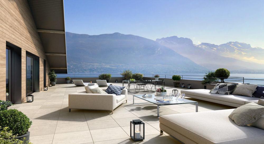 Vente Appartement Attique - Les Terrasses du Lac - 162,56m2  à Annecy