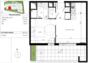 Vente Appartement appartement T2 40 m2 terrasse 15 m2 villeneuve les maguelones  à Villeneuve les maguelone
