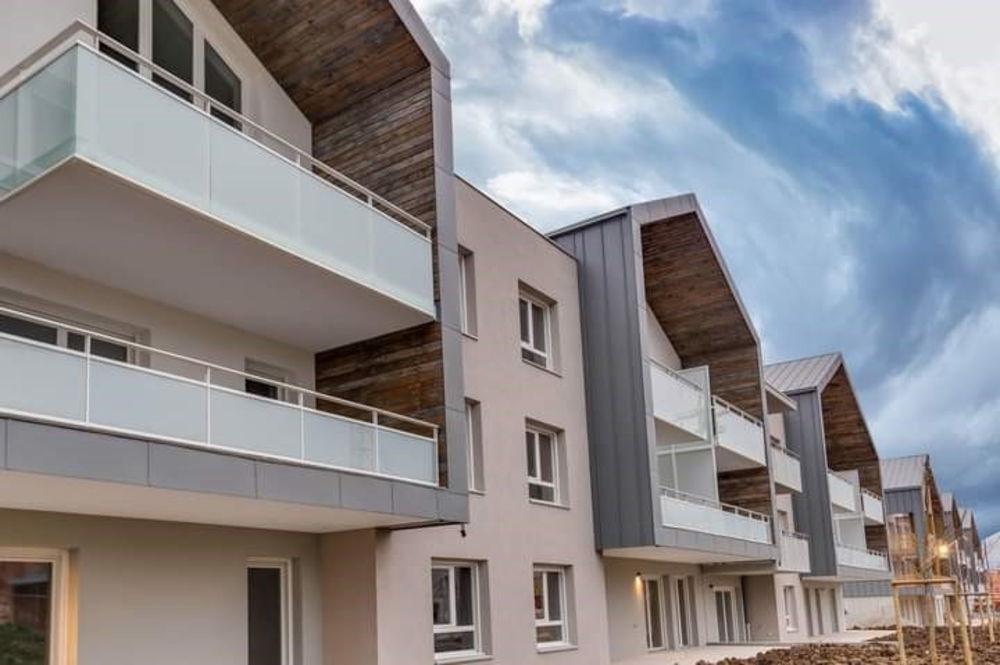 Vente Appartement Grand T3 Neuf avec grand balcon exposé Sud Varces allieres et risset