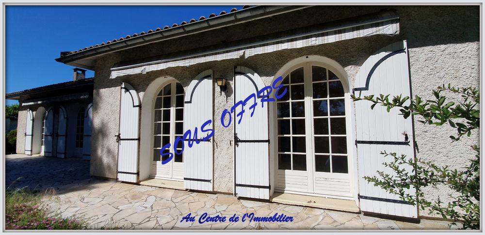 Vente Maison En Exclusivité ! Beau potentiel pour cette maison de type 7 de construction traditionnelle  à Estillac