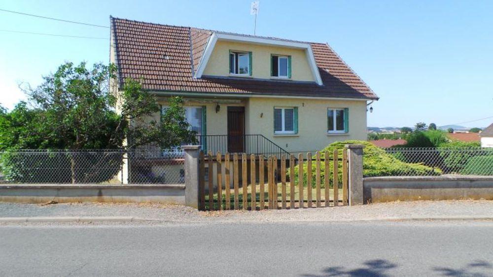 Vente Maison Maison d'env 104 m2 sur terrain de 1 315 m2  à Bourbon lancy