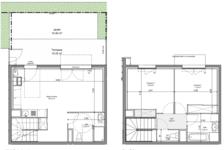 Villa mitoyenne en duplex de 66 m2 249200 Beynost (01700)