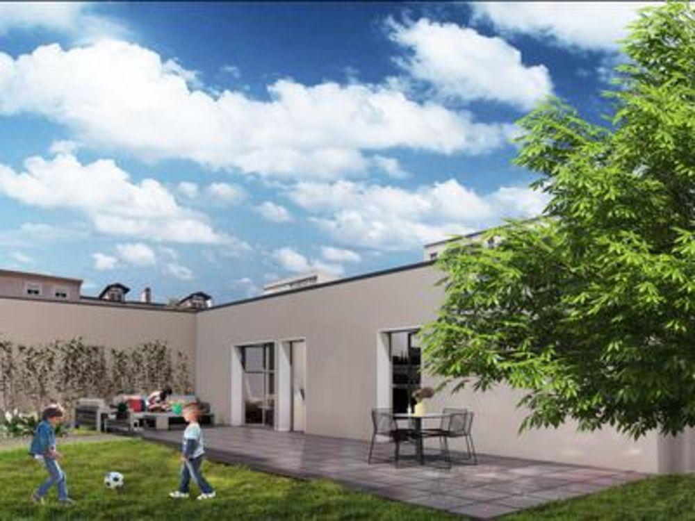 Vente Maison Maison T3 neuve avec jardin et cave entre Jean Macé et Parc Blandan, Lyon 7. Frais de notaires réduits. Lyon 7